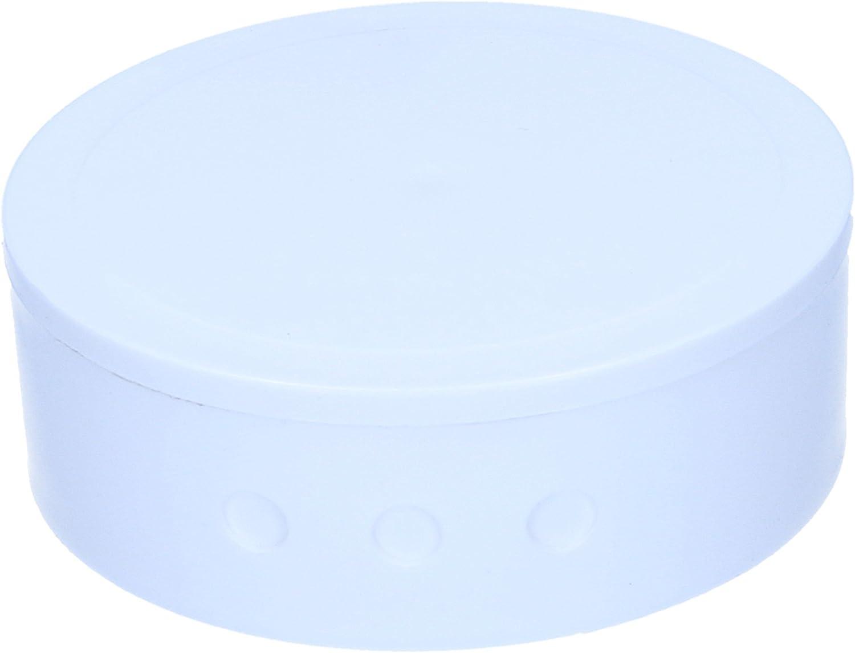 Couverture R/épartiteur avec couvercle Blanc 75/mm Diam/ètre 26/mm de haut de lit baldaquin Rond