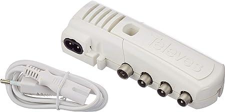 Televes 552840 AMP.VIV. 2S+TV CEI 47.790MHZ G20DB VS106 6