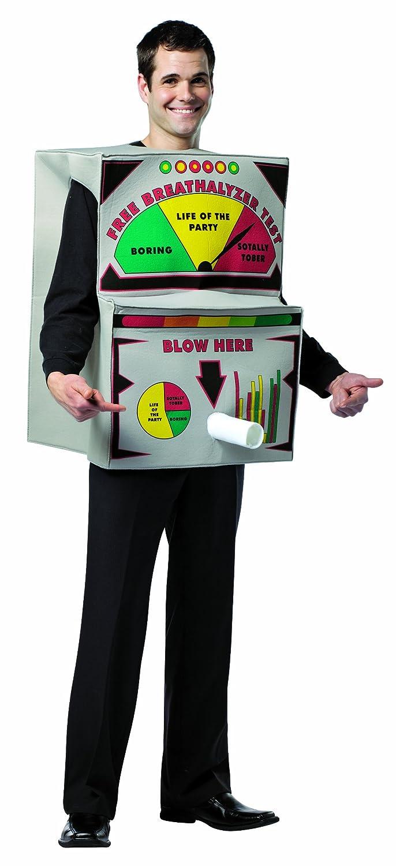 Amazon.com: Rasta Imposta Breathalyzer Costume, Multi-Colored, One ...