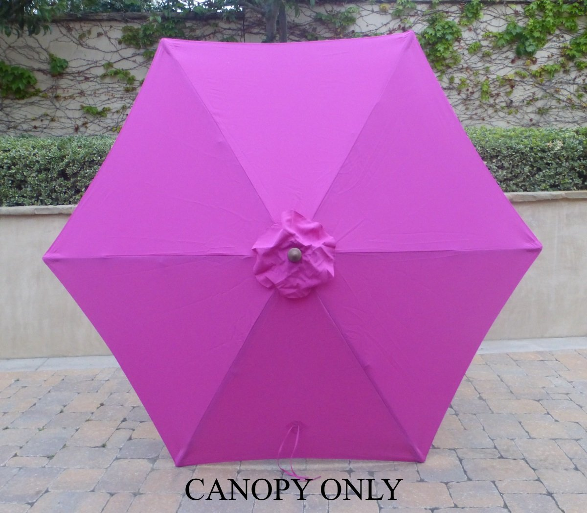 Amazon.com : 9ft Umbrella Replacement Canopy 6 Ribs In Fuchsia (HOT PINK  Canopy Only) : Garden U0026 Outdoor