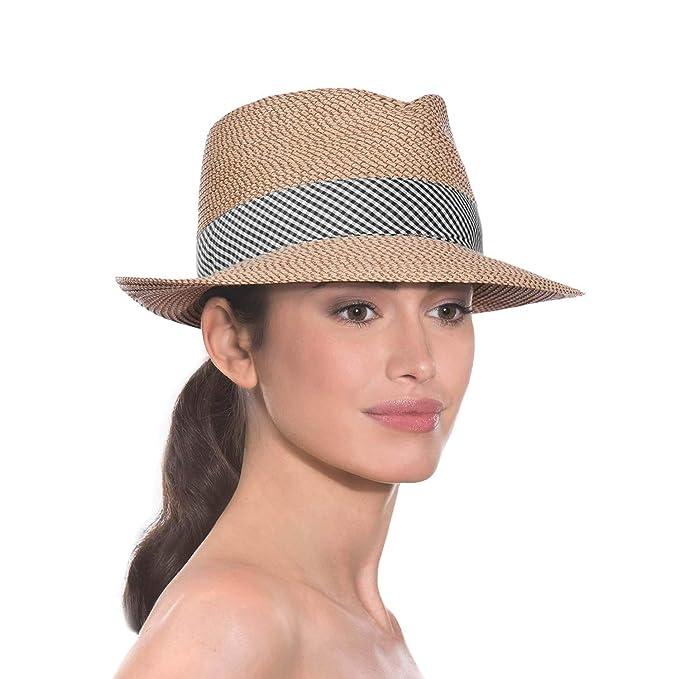 de0bf06a5 Eric Javits Women's Headwear Hat Squishee Classic One Size Peanut ...