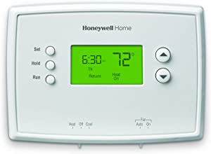 Honeywell Home RTH2300B1038 5-2 Day Programmable Thermostat, White