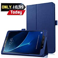 HBorna Galaxy Tab A 10.1 (A6 2016) Custodia Cover, Ultra Sottile Leggero Case per Samsung Galaxy Tab A 10,1 pollice T580 T585 Tablet, Blu scuro