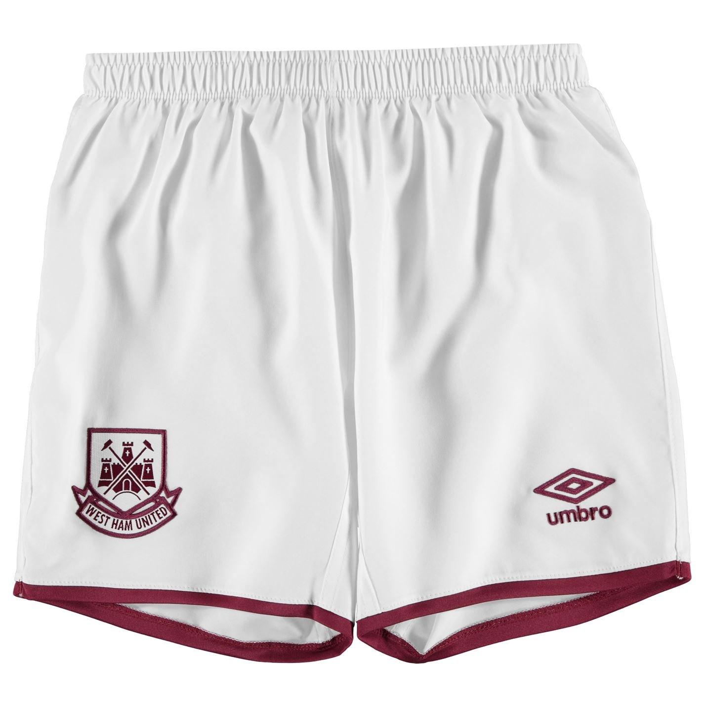 Umbro Ragazzo Junior West Ham FC Casa Pantaloncini 2015-2016 Shorts Calcio