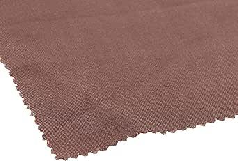 Plain Fabric Made of 100 percentViscose, Brown - 735