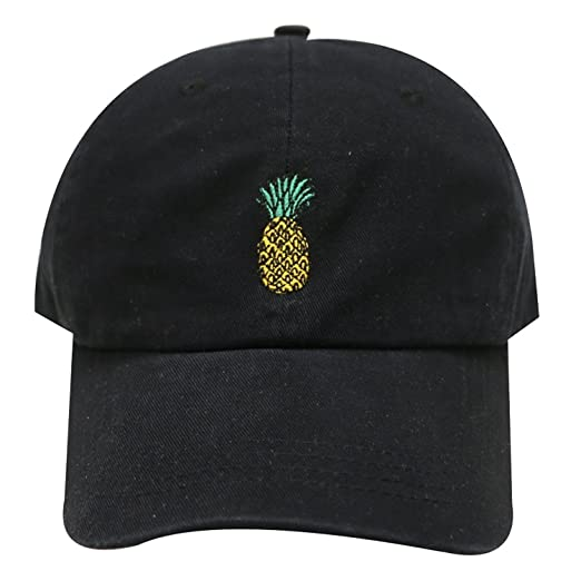 Amazon.com  Pineapple Embroidered Dad Hat Baseball Cap For Men and ... 8eb816d51ac0