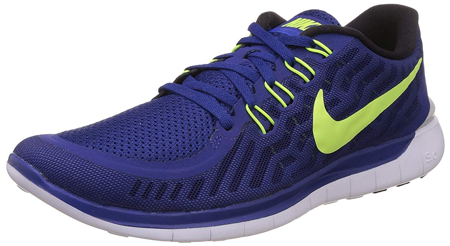d78bc0b7cb3 Nike Free 5.0 2015 Mens Running Shoes Grey Bright Crimson Silver 749592 008  (9)  Buy Online at Low Prices in India - Amazon.in