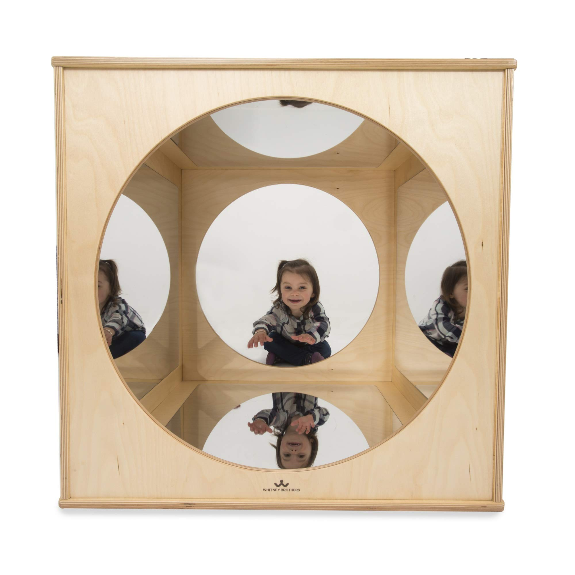 Whitney Brothers WB1846 Kaleidoscope Play House Cube Natural UV