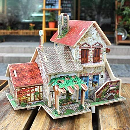1:24 Mini Dollhouse Scale Plastic Miniature Vintage Furniture Set Christmas Gift
