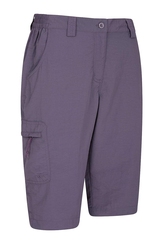 Ladies Hiking Shorts Mountain Warehouse Explore Womens Long Shorts