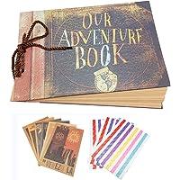 Xiduobao bizim/My Adventure fotoğraf albümü Retro Album yıldönümü Scrapbook DIY Scrapbook albümü, fotoğraf albümü yıldönümü, düğün albümü