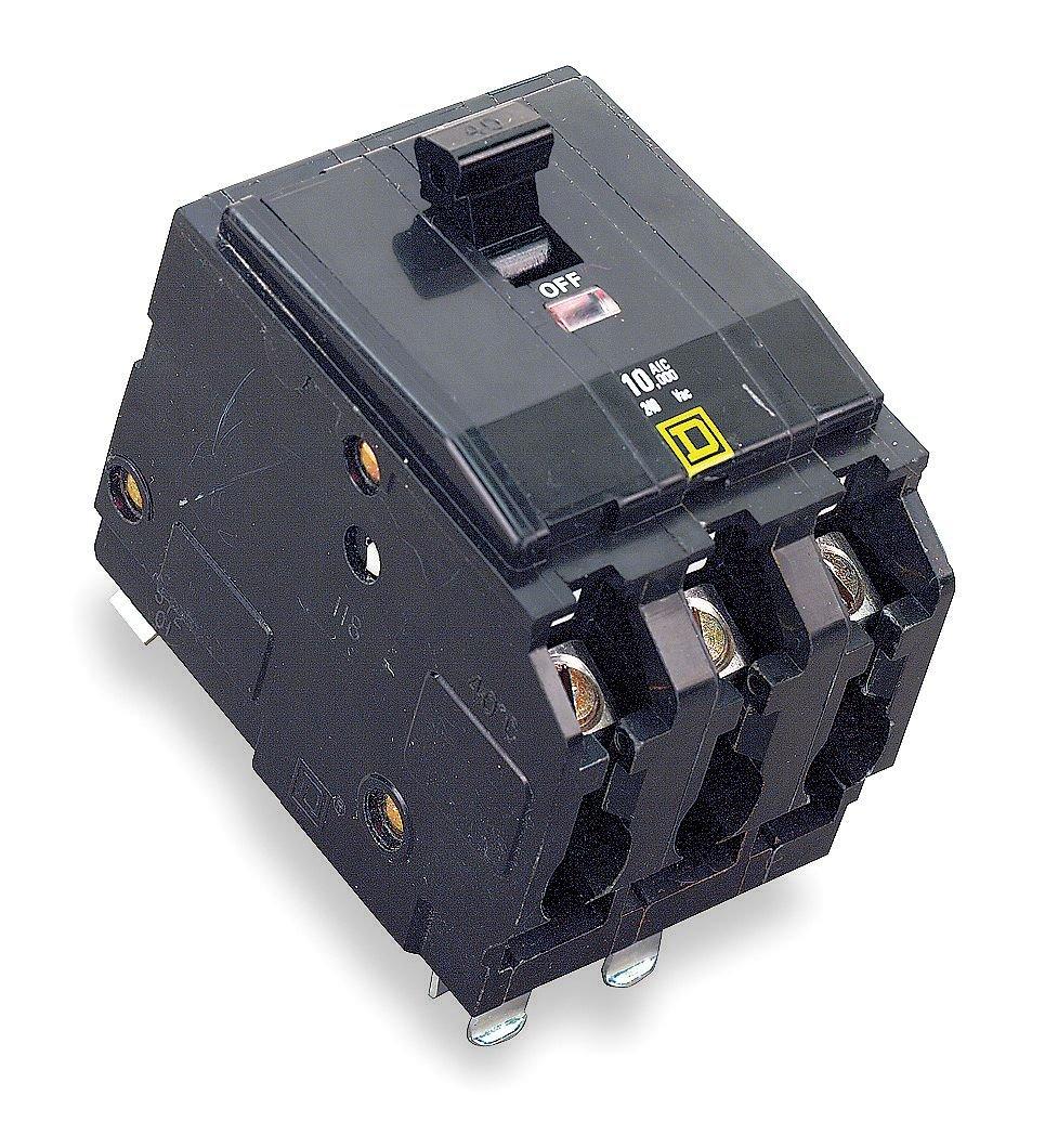 Square D Circuit Breaker 100 Amp 3 Pole Qo3100 Magnetic Breakers Automotive Panel Mount 15