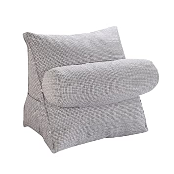 Baumwoll Leinen Sofa Couch Stuhl Bette Rückenkissen Rückenstütze ...