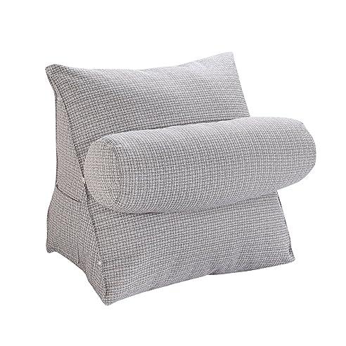 Baumwoll Leinen Sofa Couch Stuhl Bette Rückenkissen Rückenstütze Kissen Für  Hause, Schlafzimmer, Zimmer,