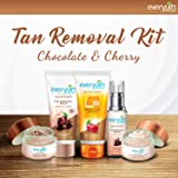 Everyuth Naturals Tan Removal Kit, Chocolate and Cherry, 50g