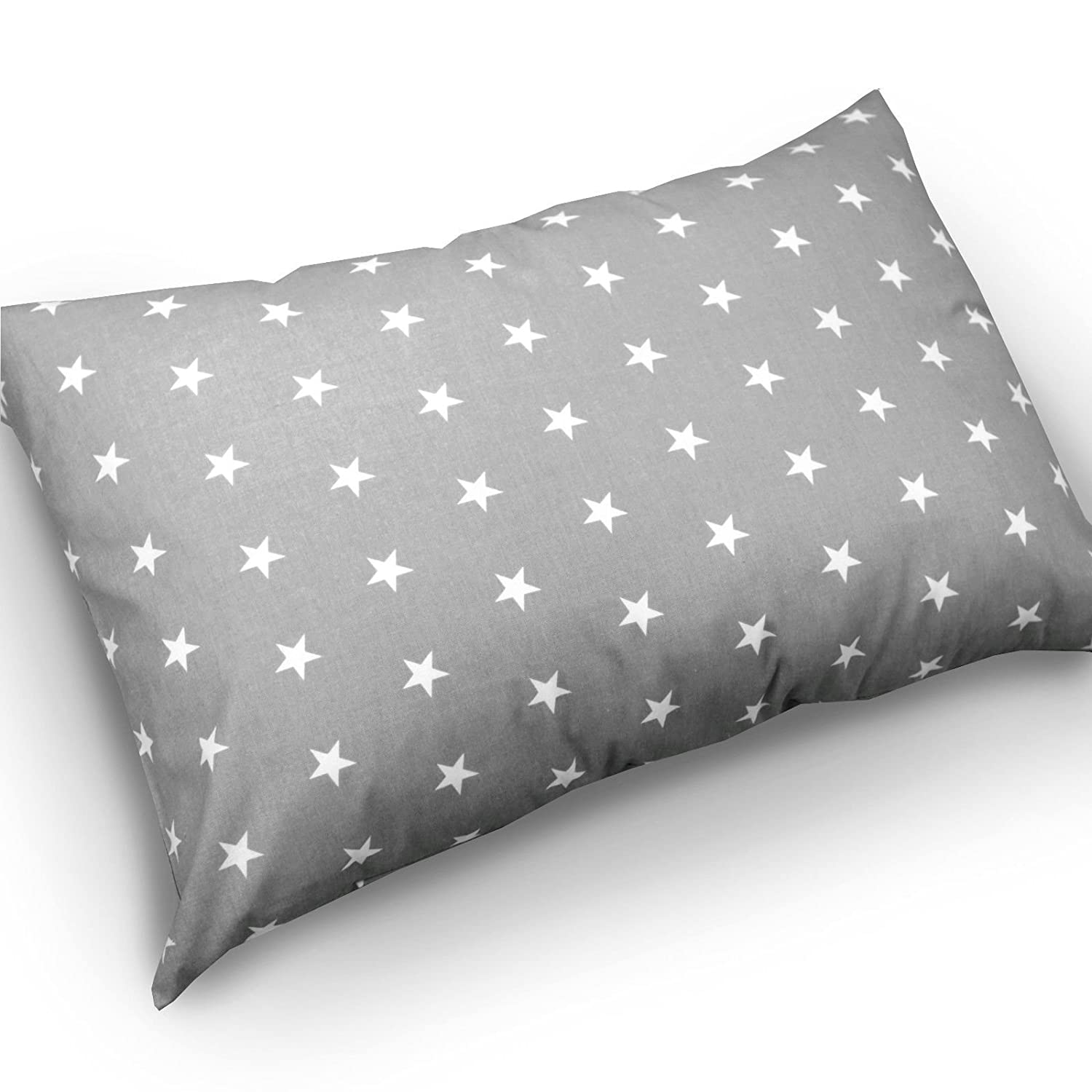 Pillow case ONLY, Safari blue BABY PILLOW CUSHION KIDS 60x40cm BACK SUPPORT DECORATIVE ANTI-ALLERGENIC