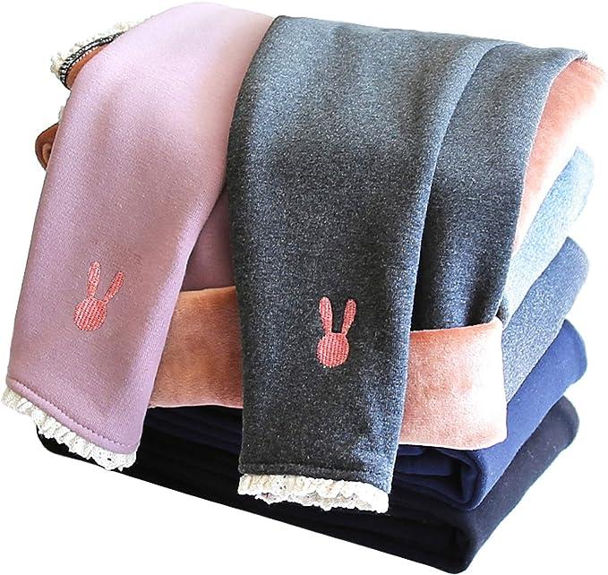 IRELIA Winter Girls Thick Fleece Lined Leggings Pants