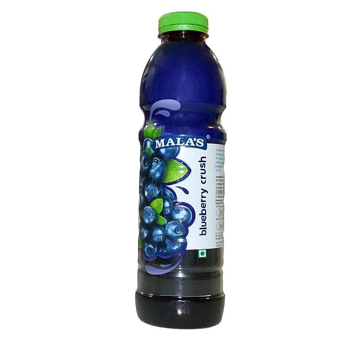 Mala's Blue Berry Crush, 750ml