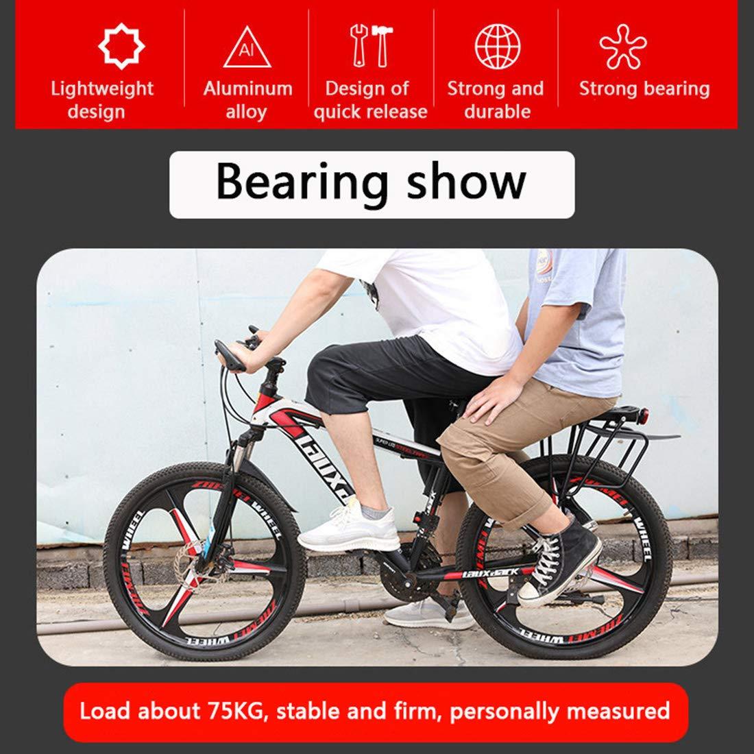Yavso Gep/äcktr/äger Mountainbike Einstellbar Schnelle Installation MTB Gep/äcktr/äger Fahrrad Gep/äcktr/äger Fahrradgep/äcktr/äger Maximalbelastung 50kg