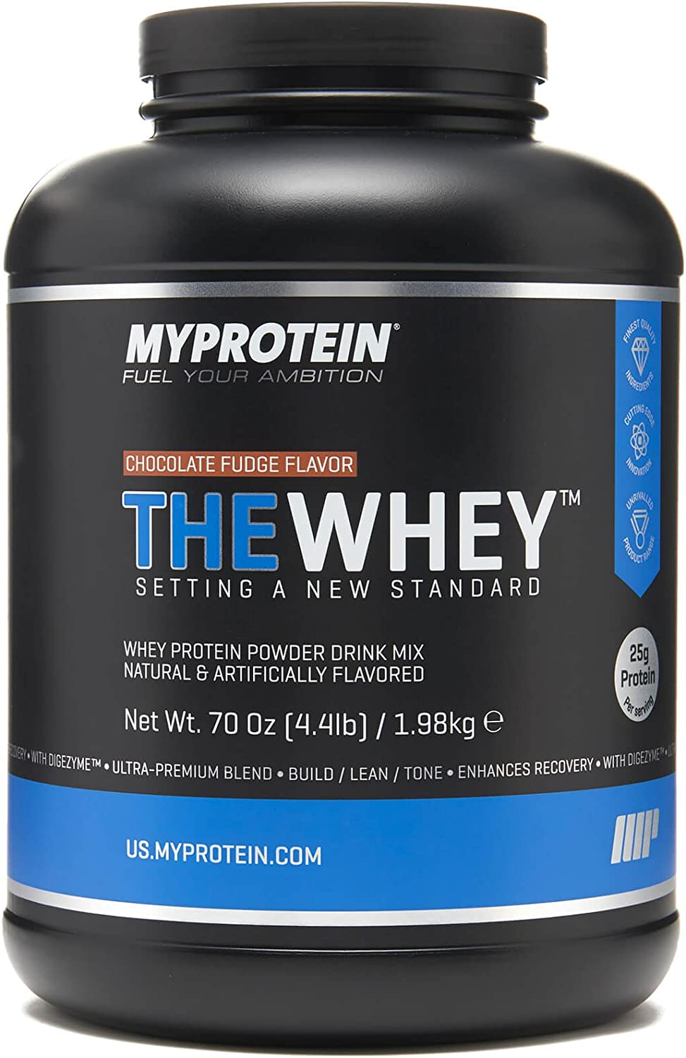 Myprotein, Cookies and Cream, 2.1 lbs 30 Servings , THEWHEY Ultra-Premium Tri Blend with Digezyme and Aminogen