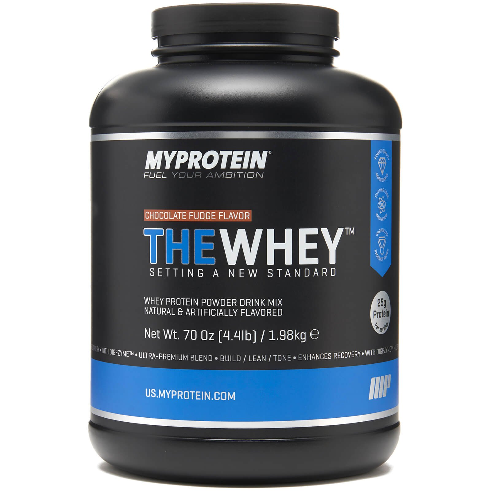 Myprotein, Cookies and Cream, 2.1 lbs (30 Servings), THEWHEY Ultra-Premium Tri Blend with Digezyme and Aminogen