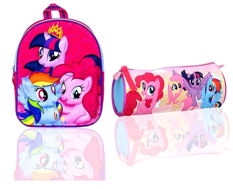 ,Official Licensed Children Backpack,MyLittlePony 3D Backpack /& Pencil Case