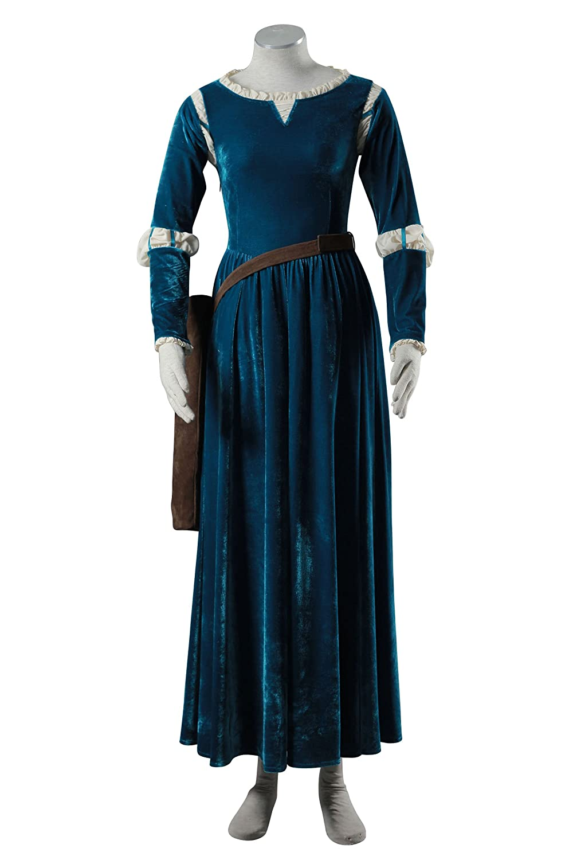 Brave Princess Merida Dress & Quiver Cosplay Costume - DeluxeAdultCostumes.com
