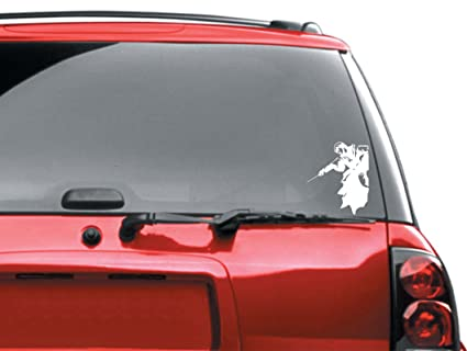 Harry potter bumper sticker automotive car decal
