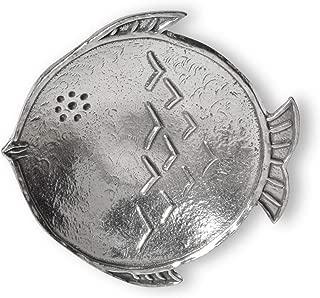 product image for Crosby & Taylor Fish Pewter Teabag Holder Trinket Dish