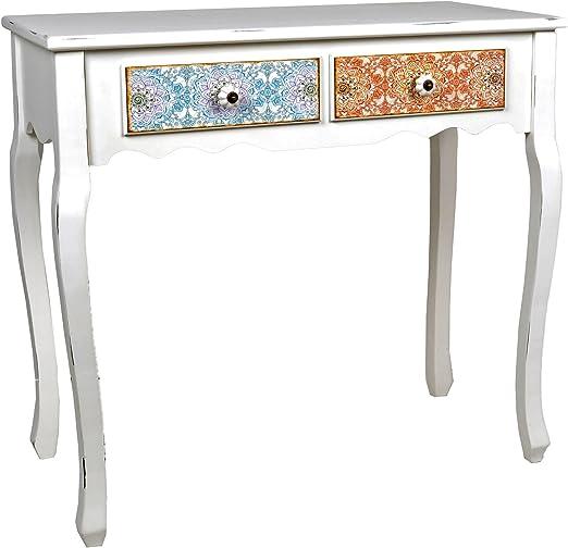 Escritorio mesa de trabajo en estilo de la alquería Shabby vintage ...