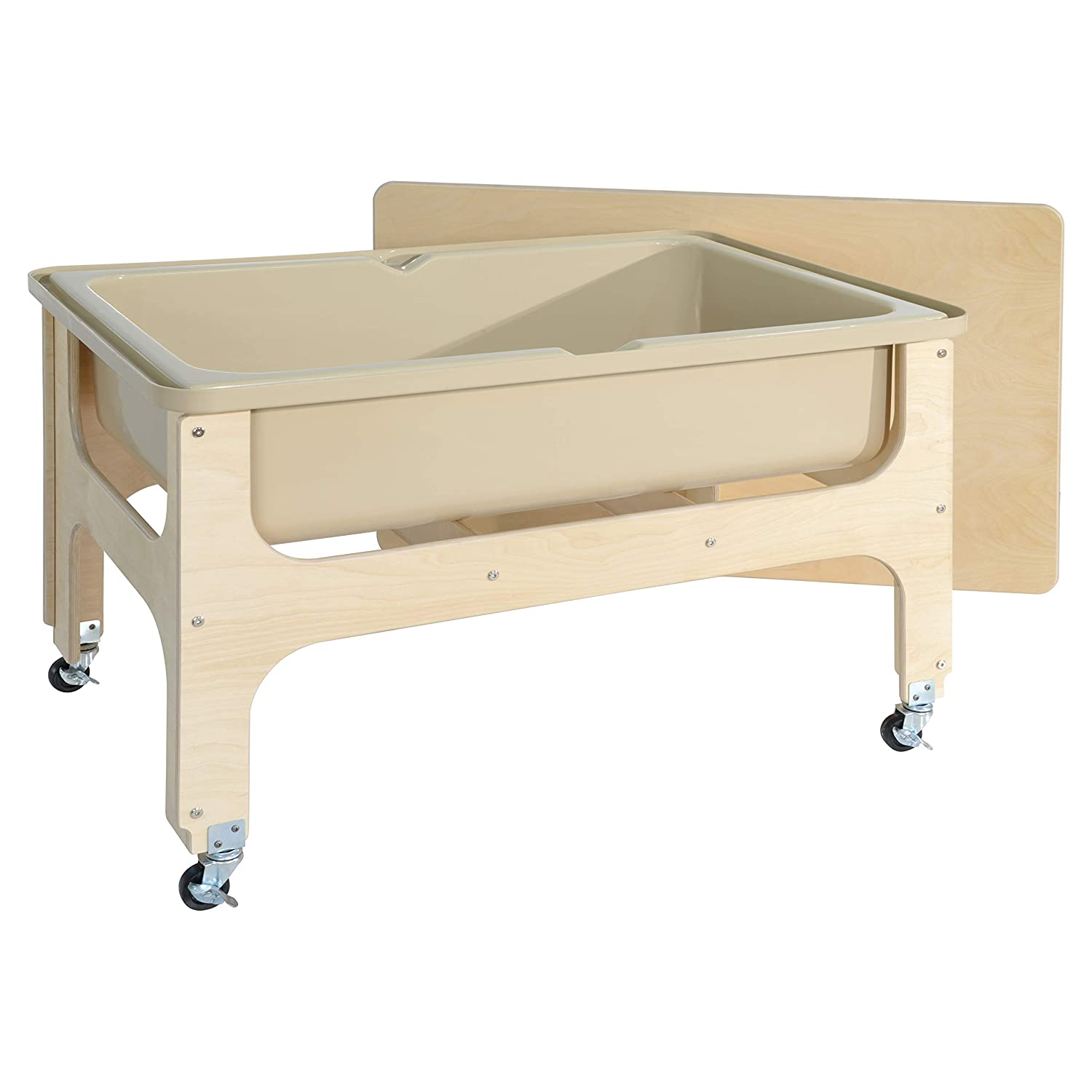 Wood Designs Deluxe Sand & Water Table with Lid