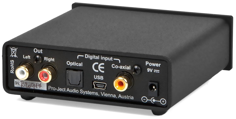 Pro-ject Convertisseurs DAC PROJECT DAC BOX USB S Noir
