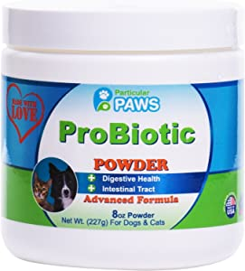 Probiotics for Dogs and Cats - Powder for Digestion, Diarrhea Relief, Regularity, Promotes Immune System and Digestive Health - 8 oz
