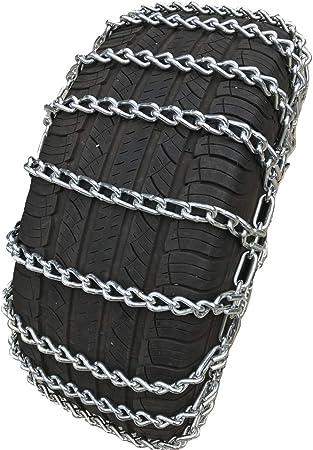 TireChain.com V-Bar 235//80R17 235//80 17 Extra Heavy Duty V-Bar Tire Chains