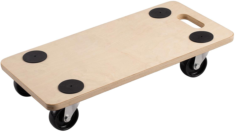 Transport Roller 590 x 290 mm, 200 kg, Plywood, PP Meister 822110