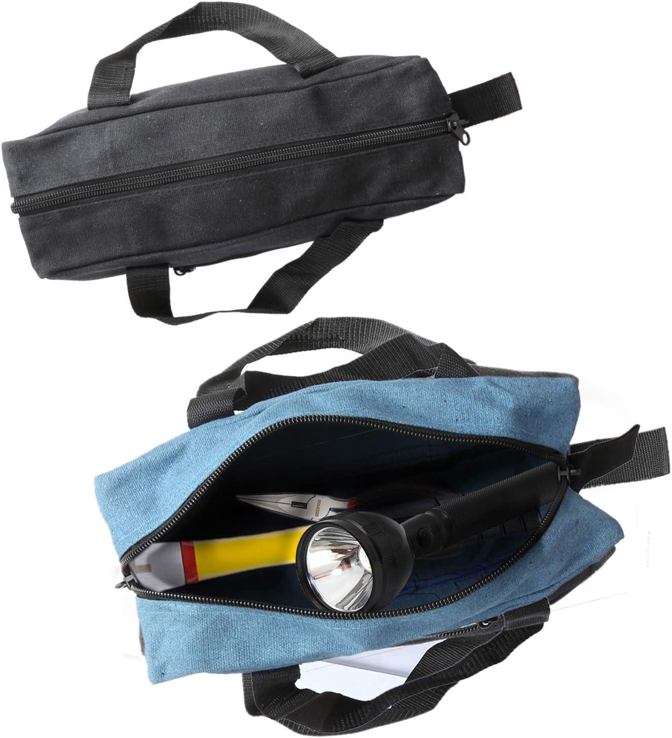 climatisation et plus Comprend des sacs /à outils de 35,6 cm et 40,6 cm plomberie Sacs fourre-tout organiseur pour /électricien jardinage Sac /à outils en toile