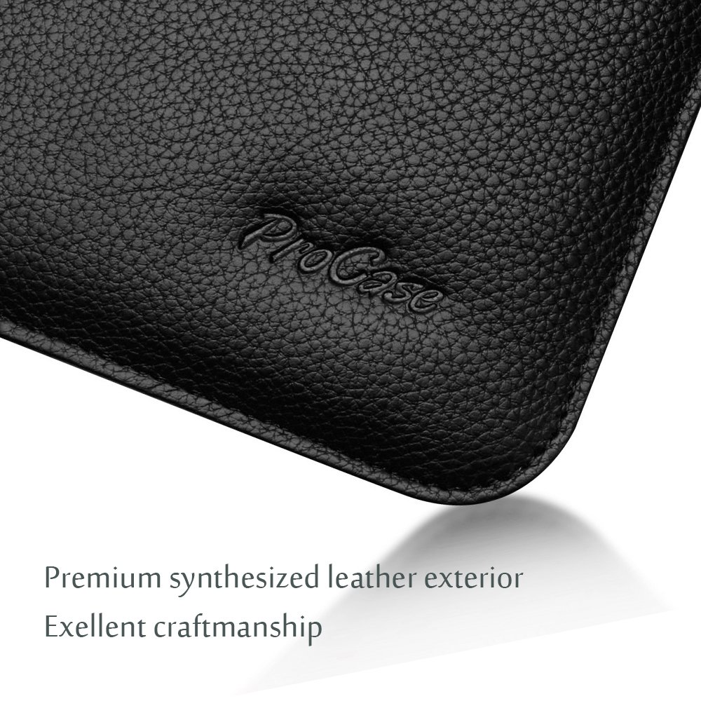 iPad Air//Air 2 Pro 9.7 Samsung Galaxy Tab S3 S2 9.7//Tab A 10.1 iPad Pro 10.5 Document Pocket and Pen Holder iPad 9.7 ProCase 9.7-10.5 Inch Wallet Sleeve Case for iPad Air 10.5 2019 Mint Green
