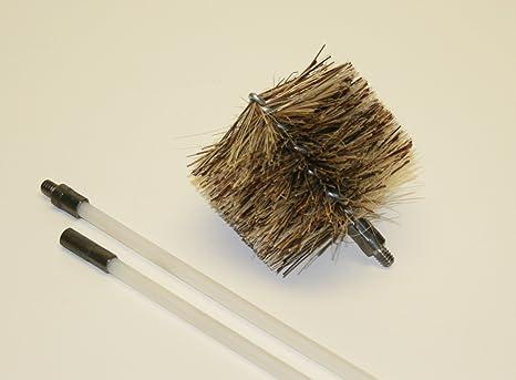 """Pellet estufa/chimenea """"cepillo de ventilación Kit de limpieza – de combustión 1"""