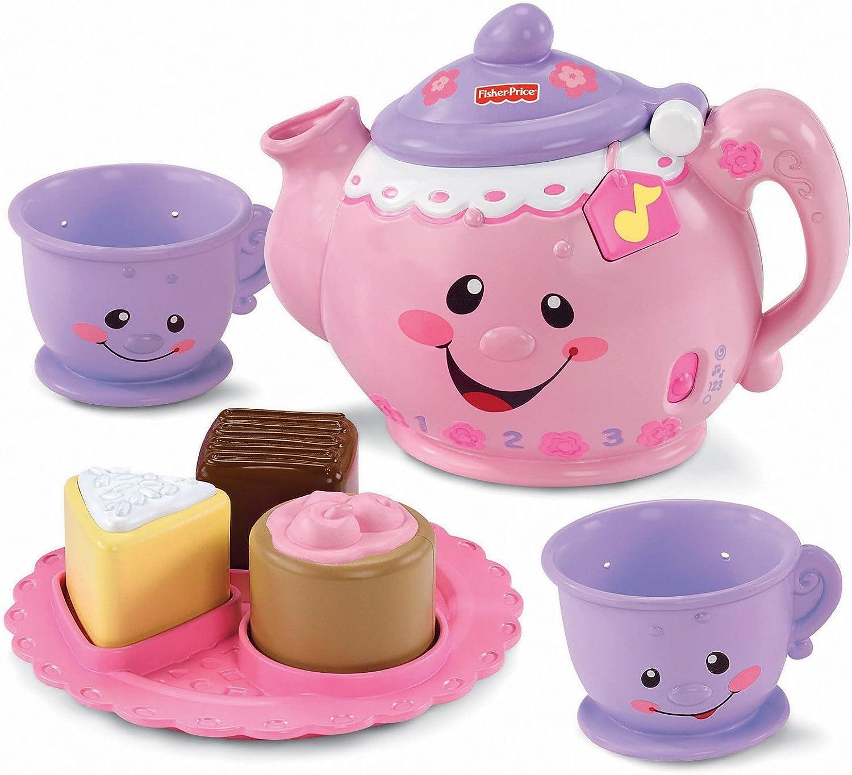 B001IEYXAA Fisher-Price Laugh & Learn Say Please Tea Set 71bntRcxYDL.SL1500_
