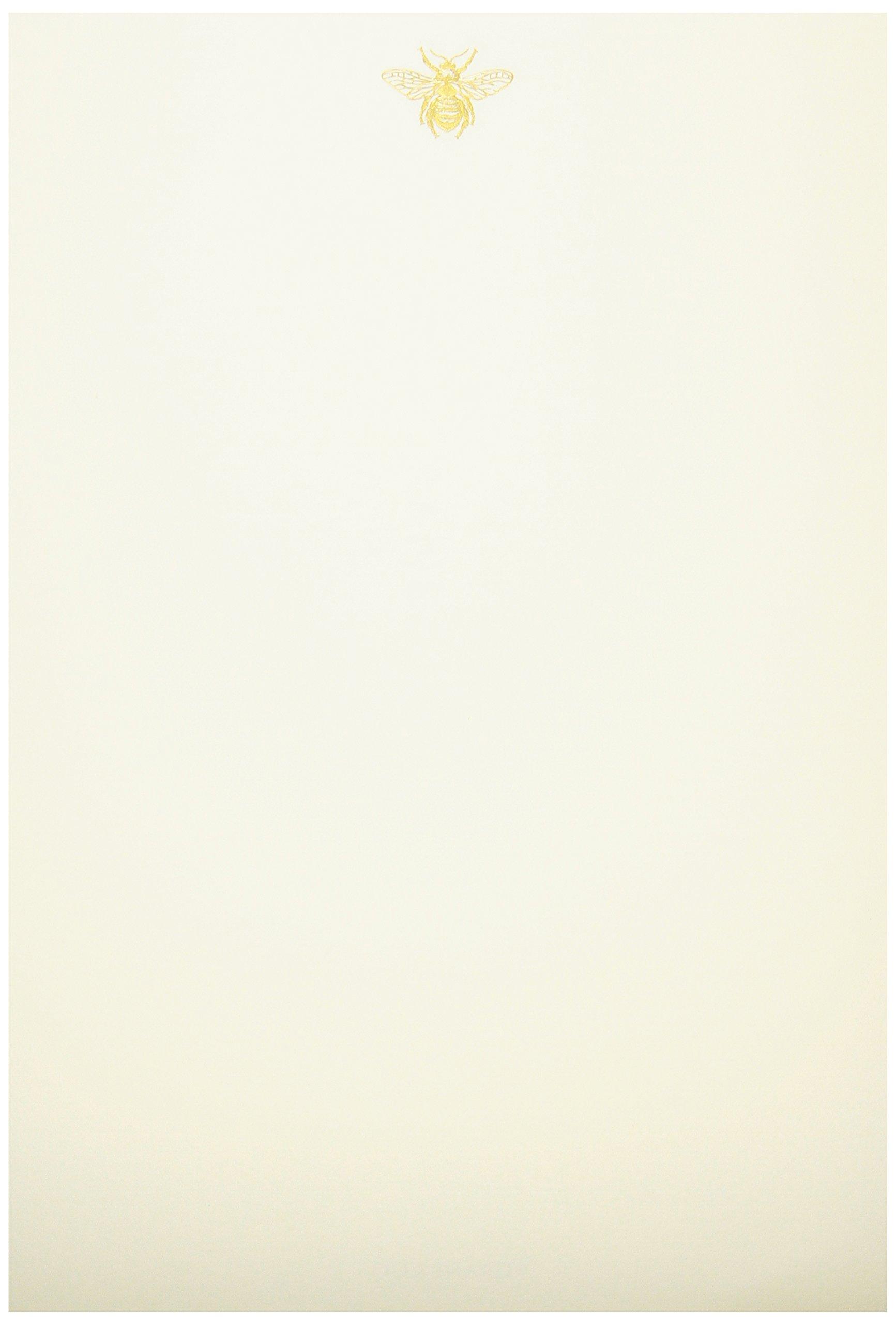 Crane & Co. Hand Engraved Bee Half Sheet (RH1400) by Crane & Co.