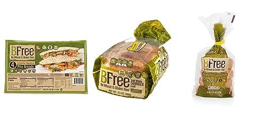 Paquete de pan, sin gluten y sin gluten, bolsas lisas, pan ...