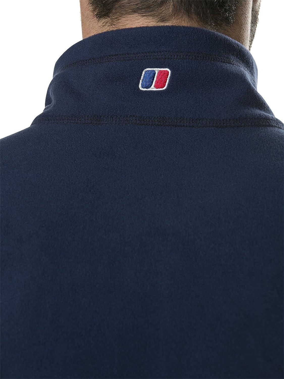 berghaus Herren Prism Micro Polartec Demi-Zip Fleece-Oberteil