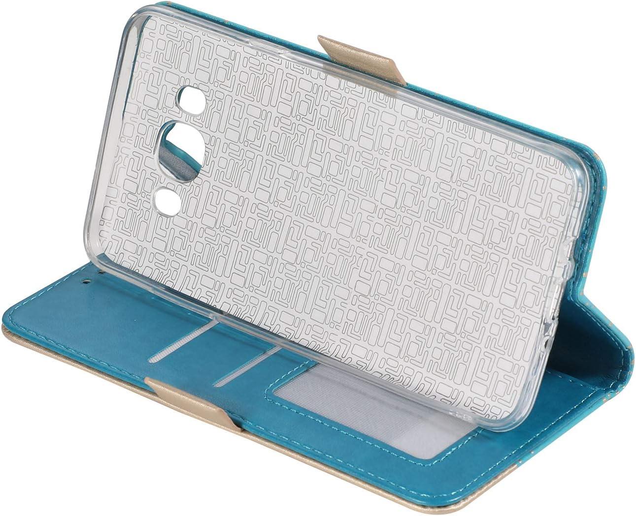 Bowknot Brieftasche Klapph/ülle Kartenf/ächer Wallet Flip Case for Samsung J3 2017 Handytasche Standfunktion-Schwarz Huphant Compatible for Handyh/ülle Samsung Galaxy J3 2017 h/ülle Leder N/ähte Farbe