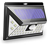 RUIJIN Solar Light Outdoor,Wireless 40 LED Motion Sensor Solar Lights with Wide Lighting Area,Easy Install Waterproof Security Lights for Back Yard,Driveway,Garage,Front Door and More