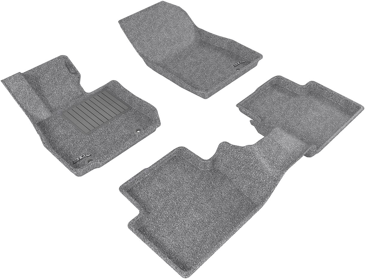 3D MAXpider Complete Set Mazda CX-3 2016-2016 Classic Carpet Gray All 2 Rows L1MZ05102201