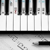 Pegatinas para piano y teclados, para instrumentos