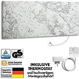Marmony C780 Infrarotheizung Carrara inkl. Thermostat 800Watt