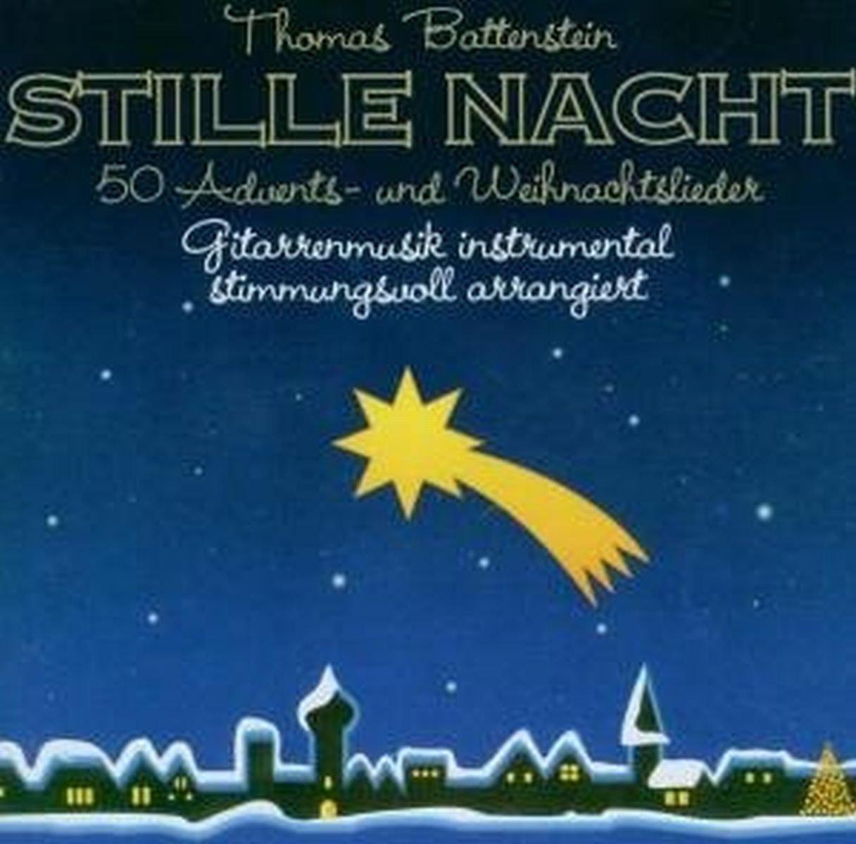 Stille Nacht - 50 Advents- und Weihnachtslieder Gitarren-Musik ...