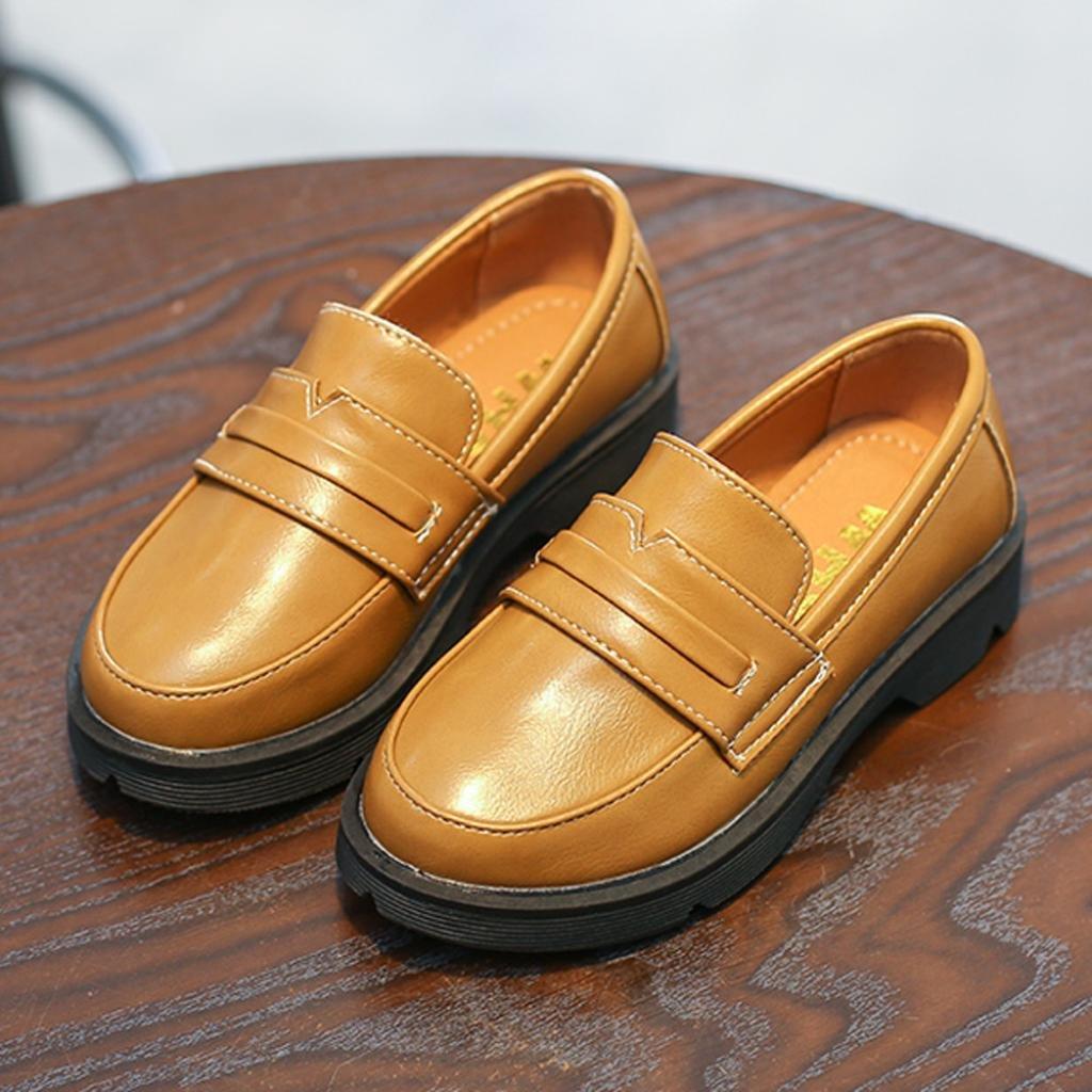 Highpot Children Casual Loafers Shoes Boys Girls Boat-Dress Shoes//Sneaker//Flats