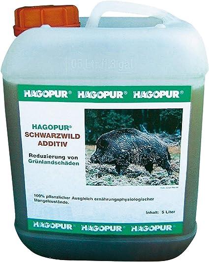 Concentrado con vitamina B12 para jabalíes de 5 litros Hagopur - Para evitar los destrozos de los jabalíes en busca de proteína animal con este ...